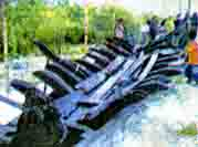 Foto bangkai perahu datuk Bogak